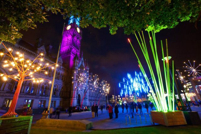 Garden of Light event - Bradford Council